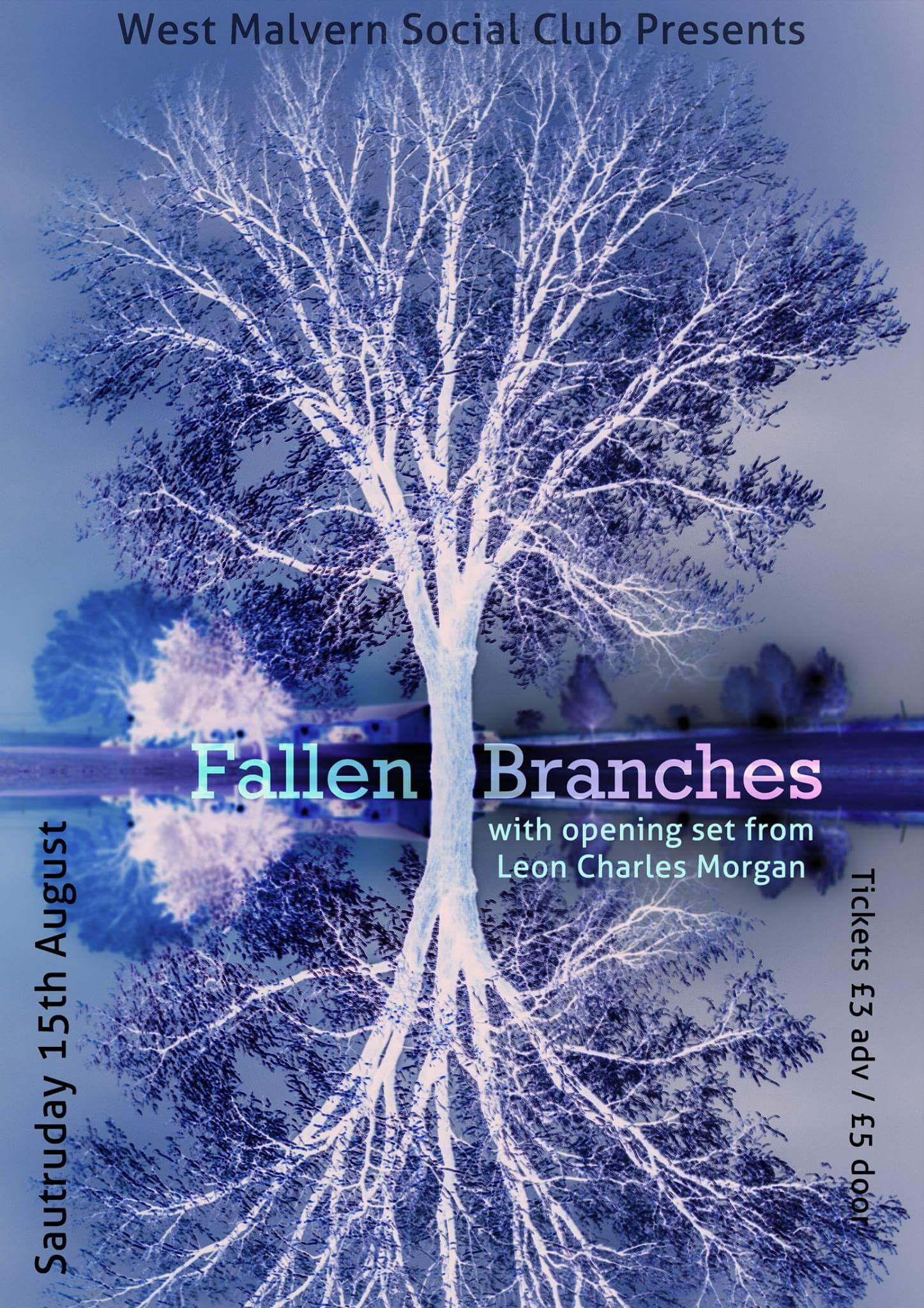 Fallen Branches plus Leon Charles Morgan